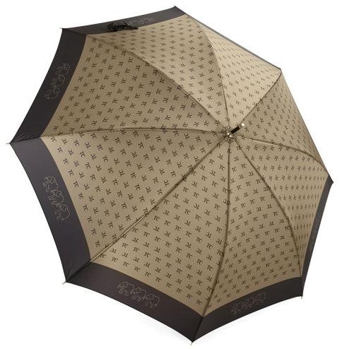 Зонт-трость L2288 золото (полуавтомат) 120 см Три слона