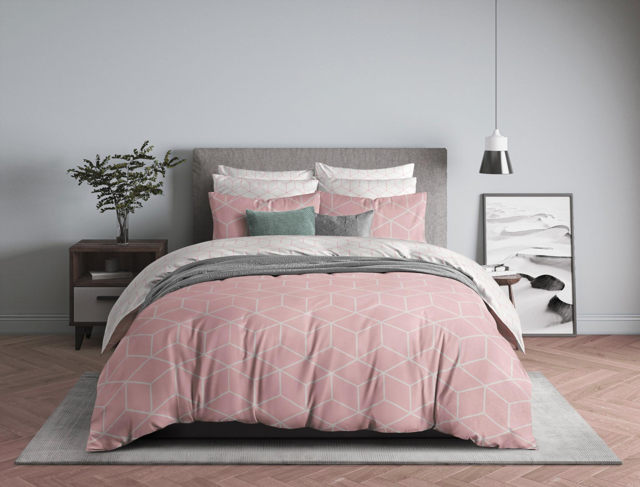 Комплект белья из бязи 850-2 Lounge Pink Guten Morgen