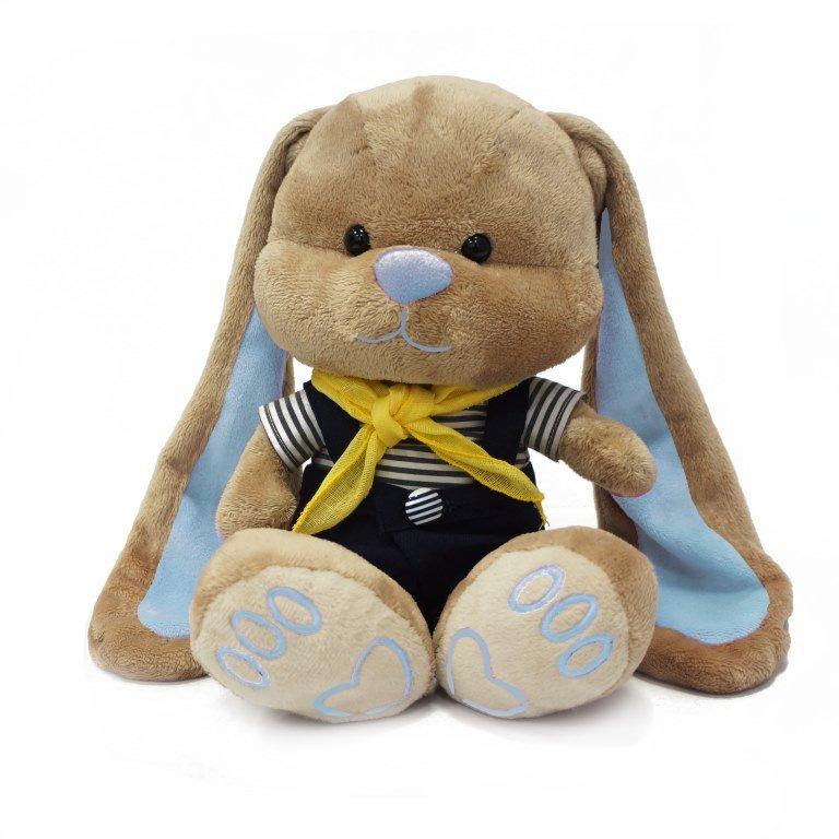 Мягкая игрушка JL012 Зайчик Жак в морском костюмчике Maxitoys