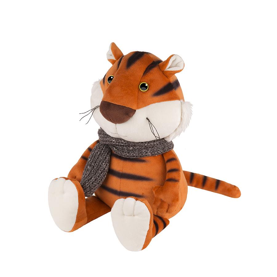Игрушка MT-MRT022108-20 Тигруша в Вязаном Шарфе 20 см Maxitoys