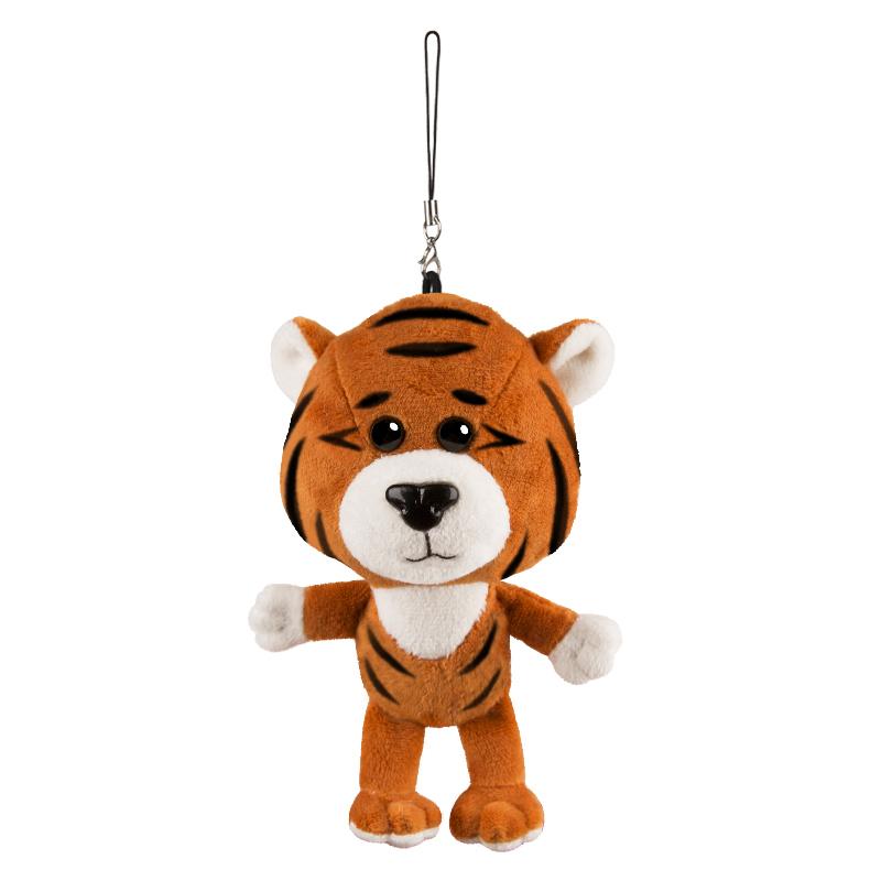 Игрушка MT-MRT022125-13 Тигр Оранжевый 13 см Maxitoys