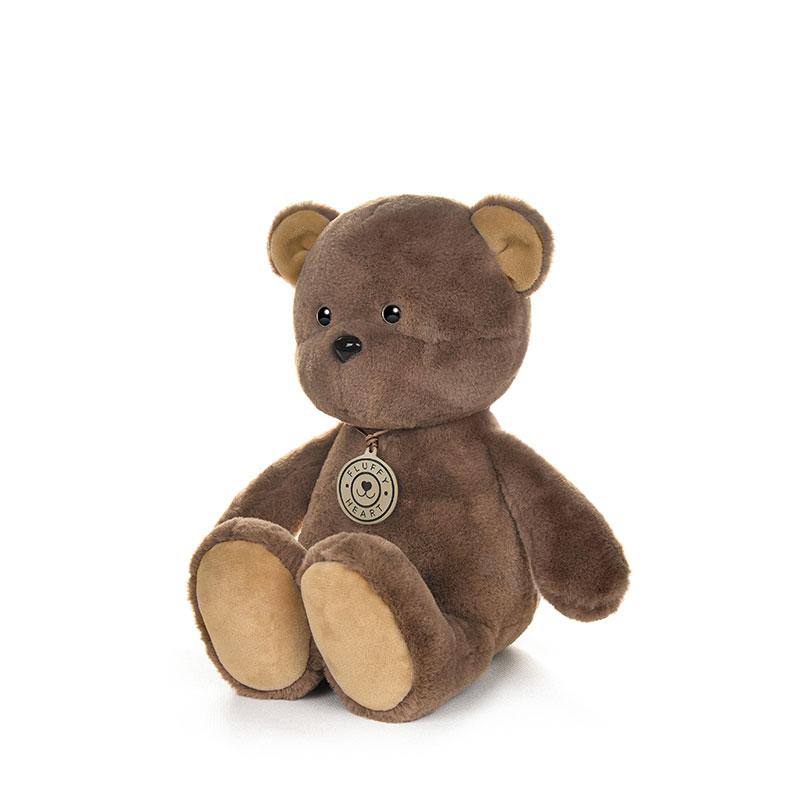 Игрушка MT-MRT081909-25 Fluffy Heart Медвежонок 25 см Maxitoys