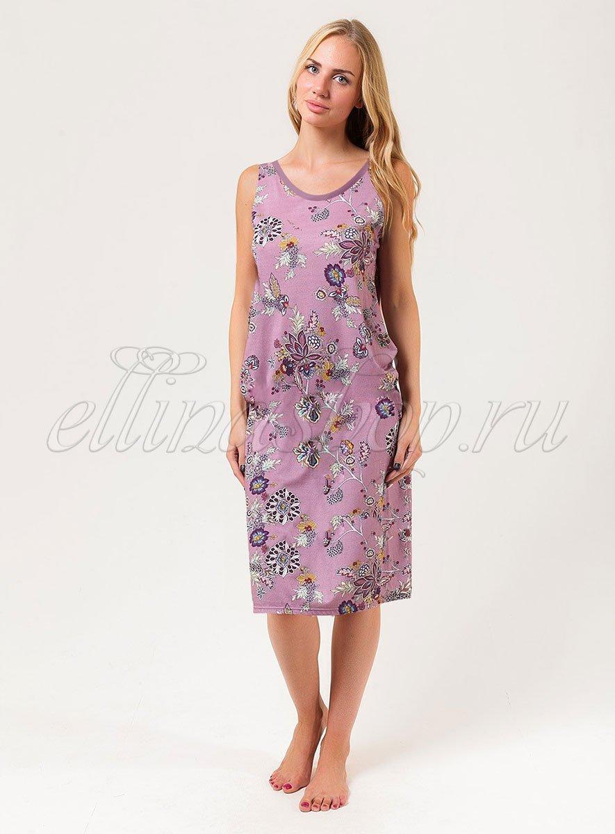 46С0215 Fairy tail - сорочка средней длины Cote coton