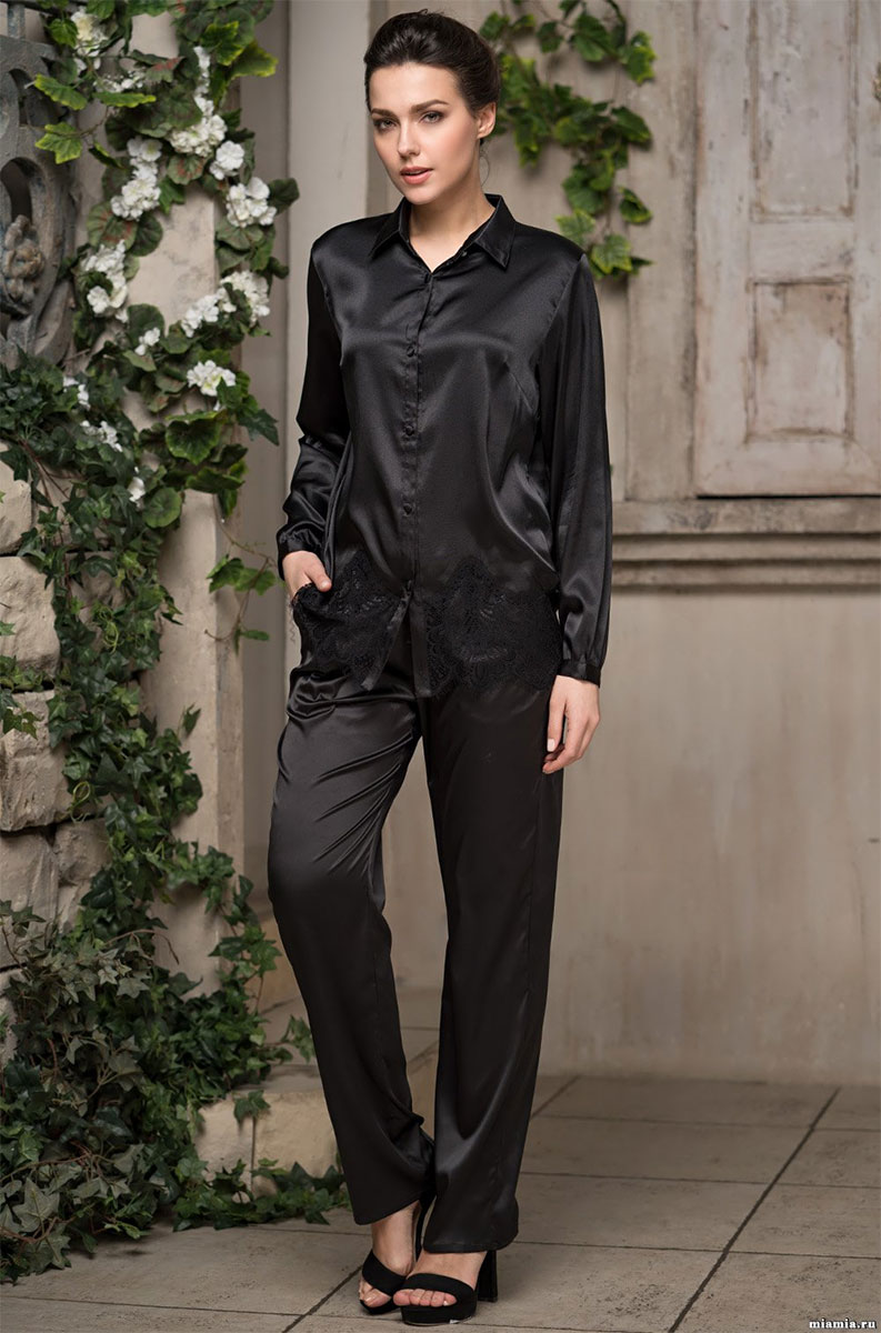 Женская пижама (жакет, брюки) 2166 Афродита Mia Amore