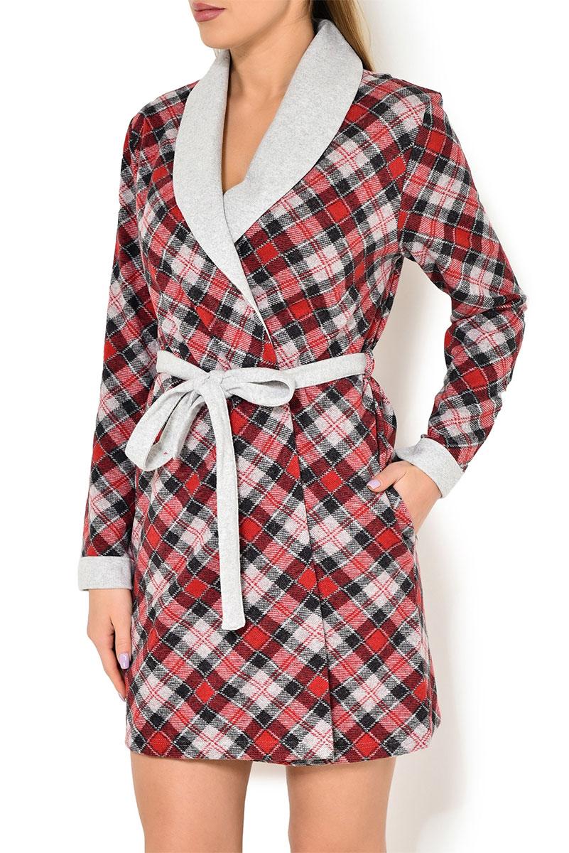 Женский трикотажный халат 77435 Linclalor