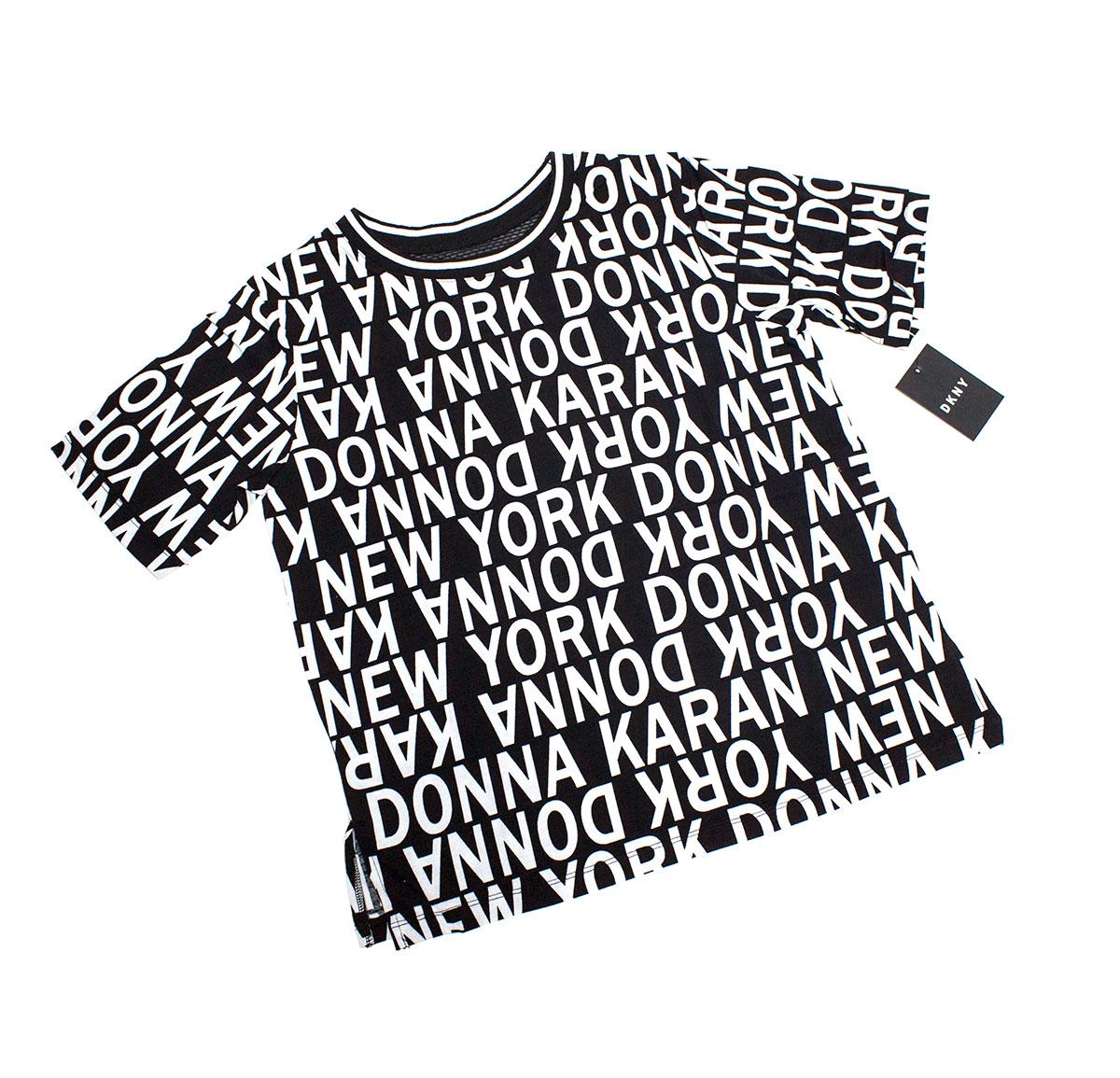 Женская футболка YI2419415 Hello New York DKNY