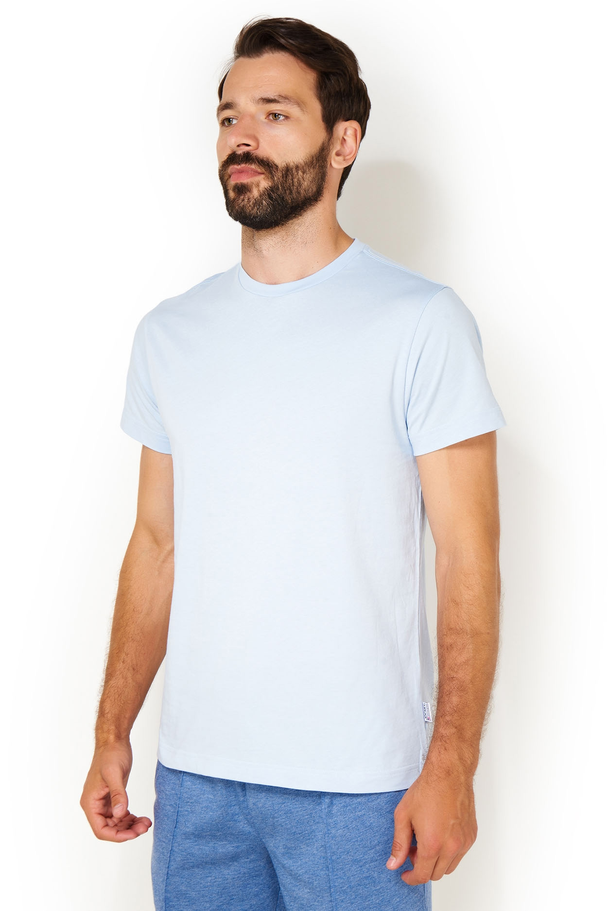 Футболка мужская 120100H светло-голубой Jockey
