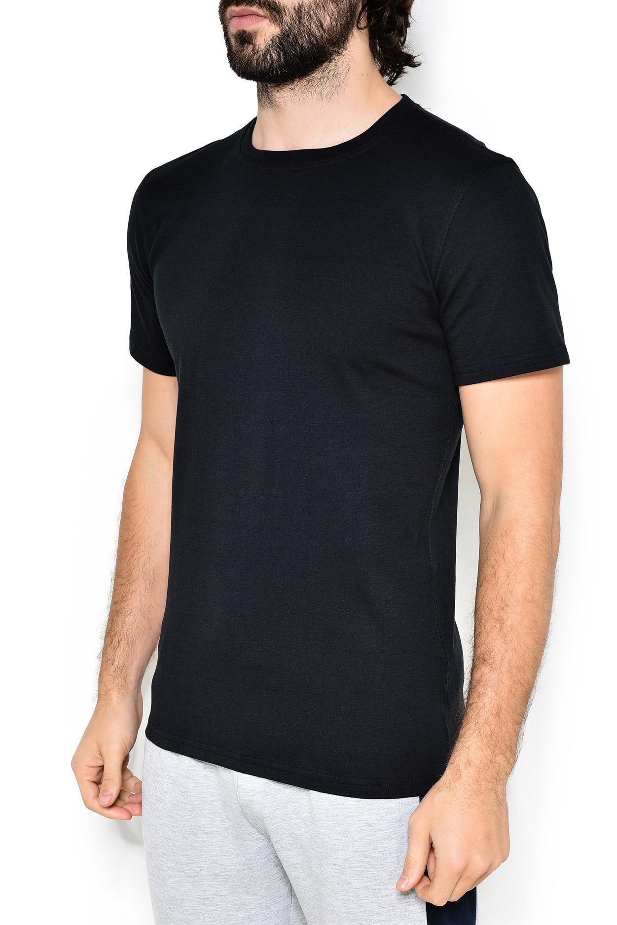Трикотажная футболка 15501812 черный Jockey