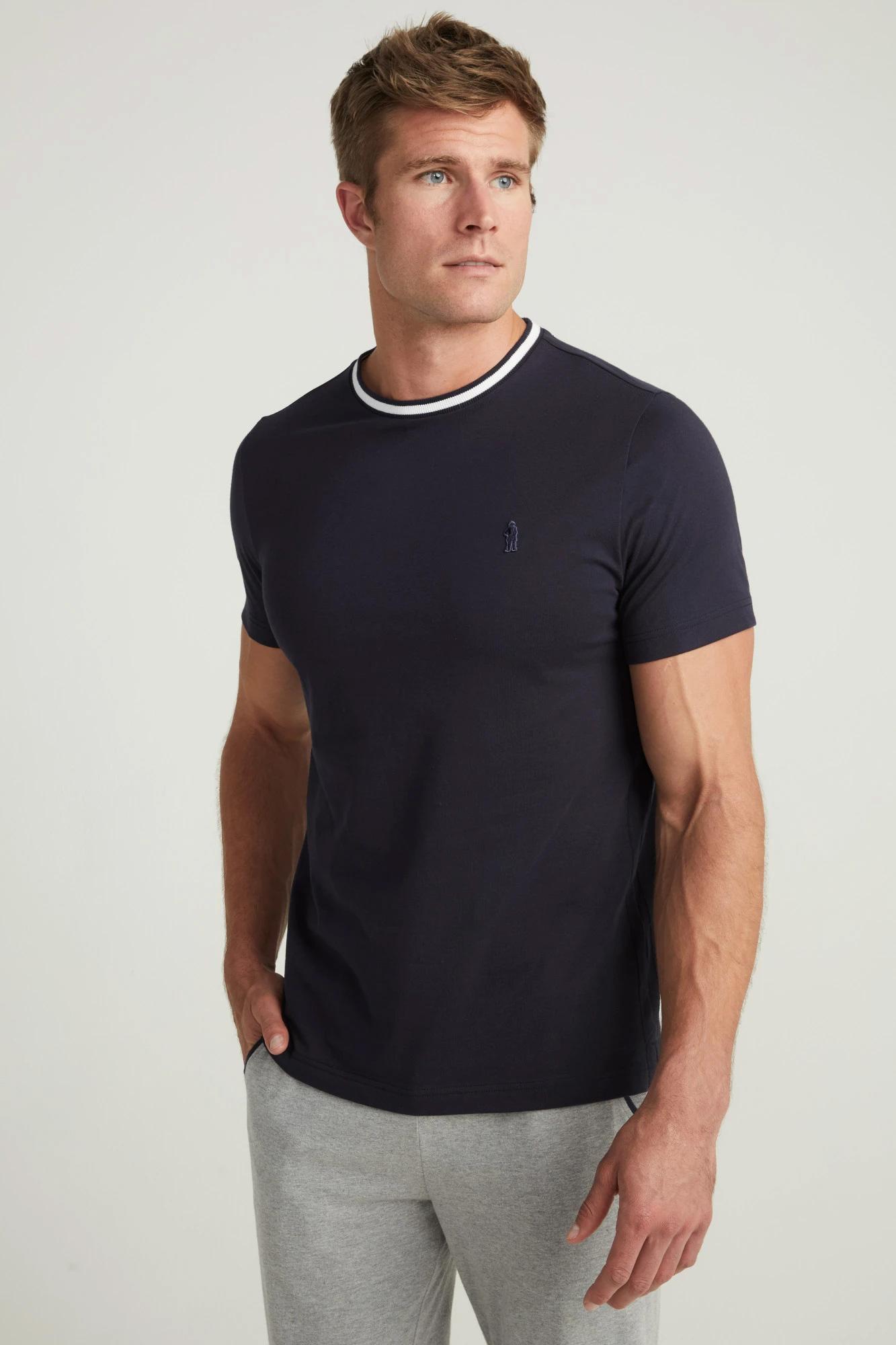 Мужская хлопковая футболка 500722H Jockey