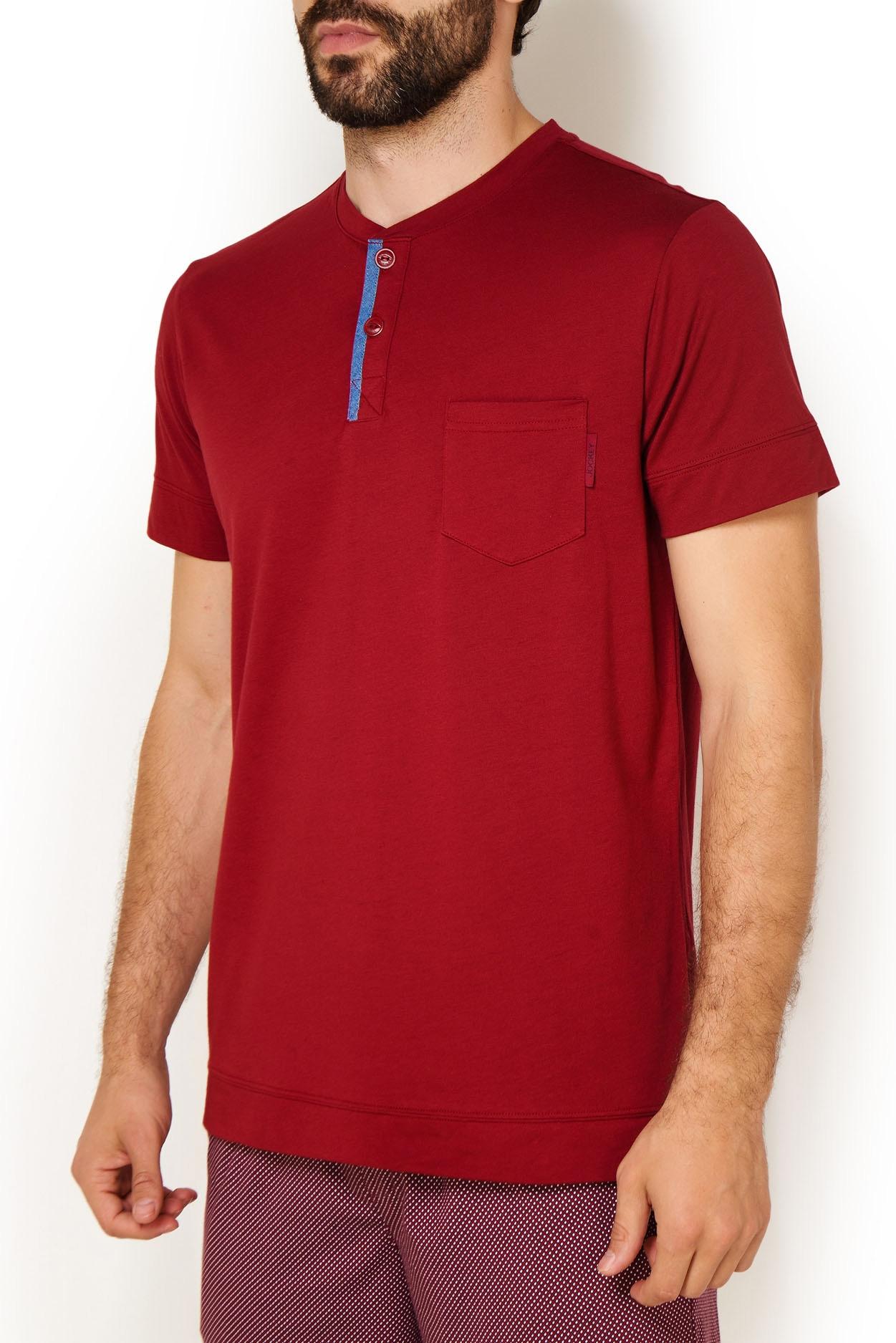 Мужская трикотажная футболка 500729 Jockey