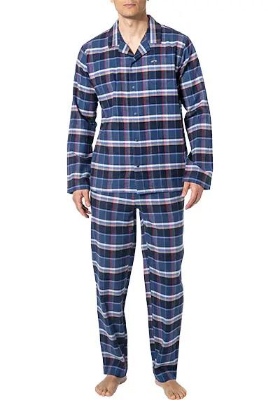 Байковый комплект (жакет+брюки) 5302202 синий Jockey