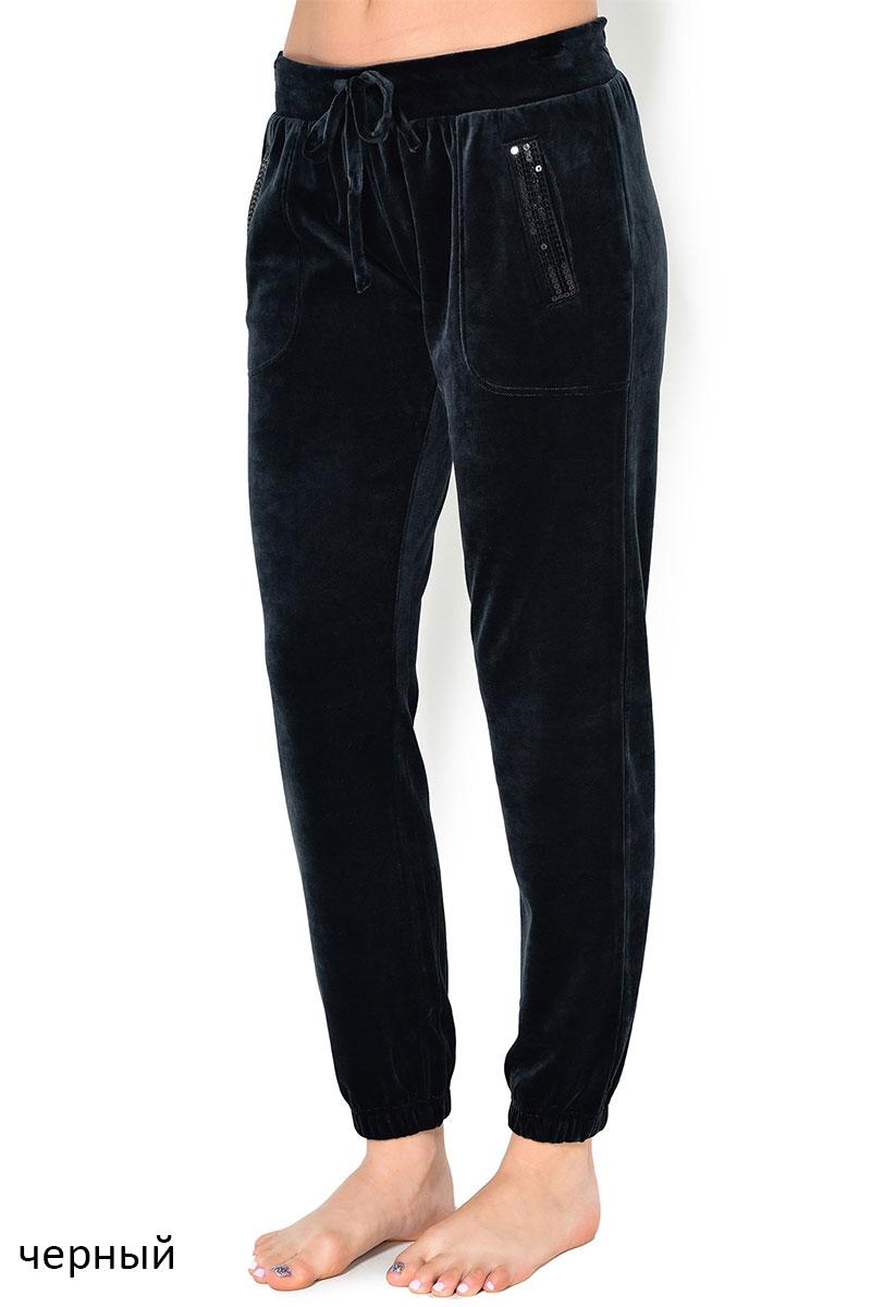 Женские велюровые брюки 850009H черный Jockey