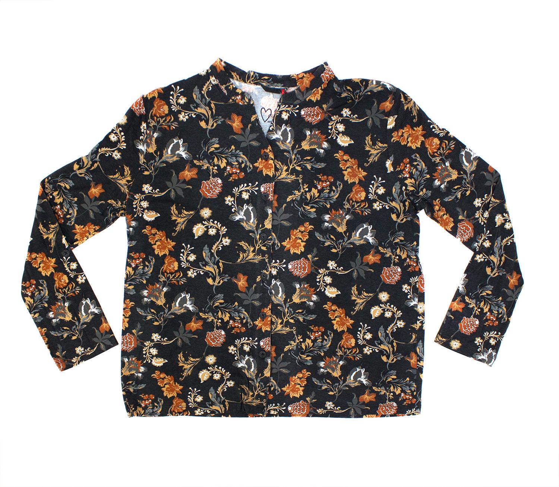 Женская трикотажная рубашка на пуговицах 8609202H Jockey