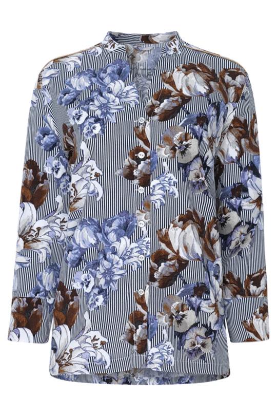 Женская вискозная рубашка на пуговицах 8610211H Jockey