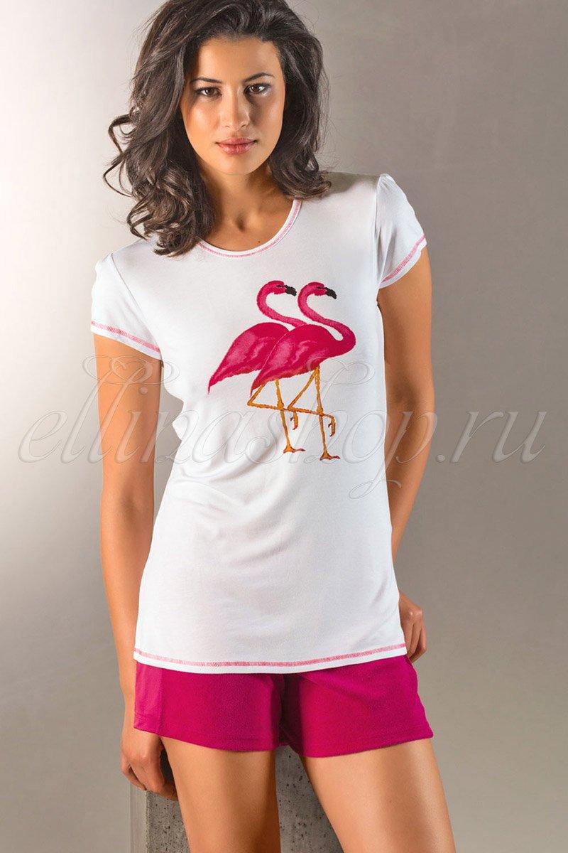 99460261 Фламинго Футболка Nina VonC