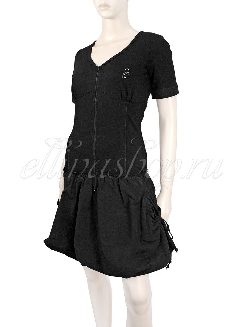 17659 Платье трикотажное, на молнии Caldonna