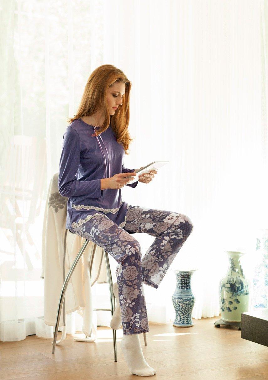15334 Сакура - пижама (кофта+брюки) Nota