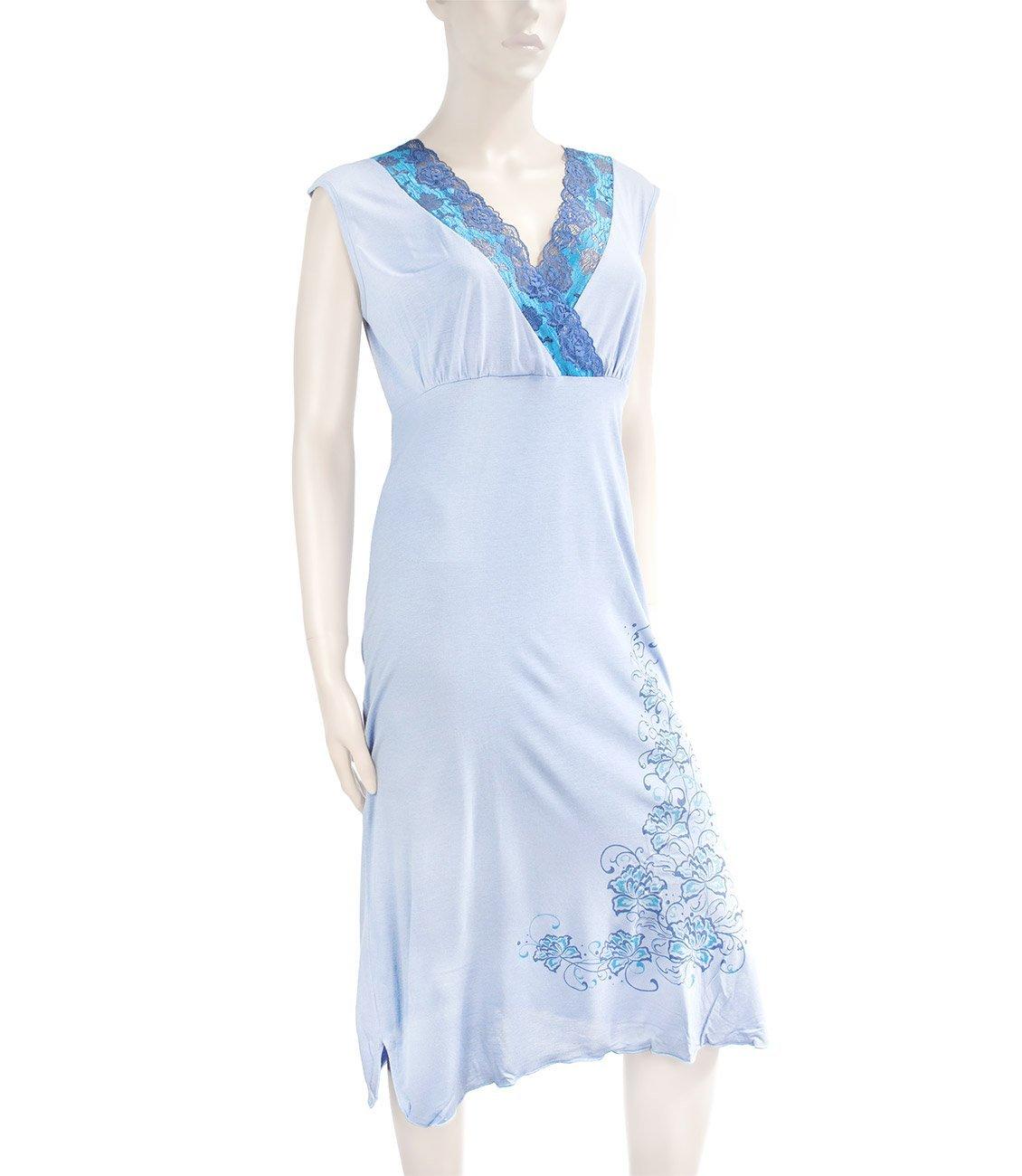 461HW Цветок - сорочка длинная Купалинка