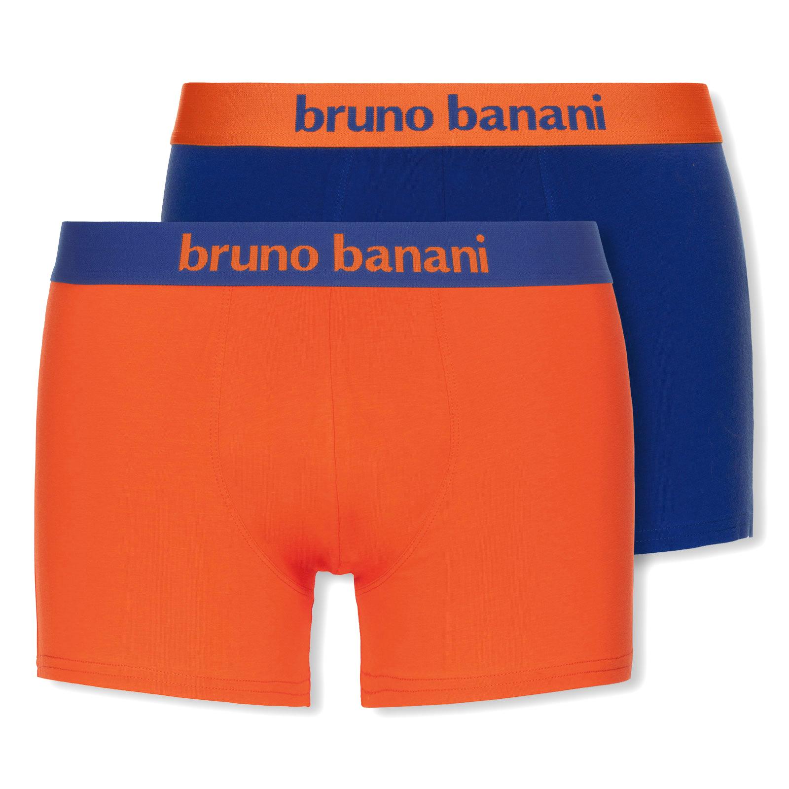 Комплект трусов боксеров (2 шт) 2203-1388 Flowing синий-оранжевый Bruno banani