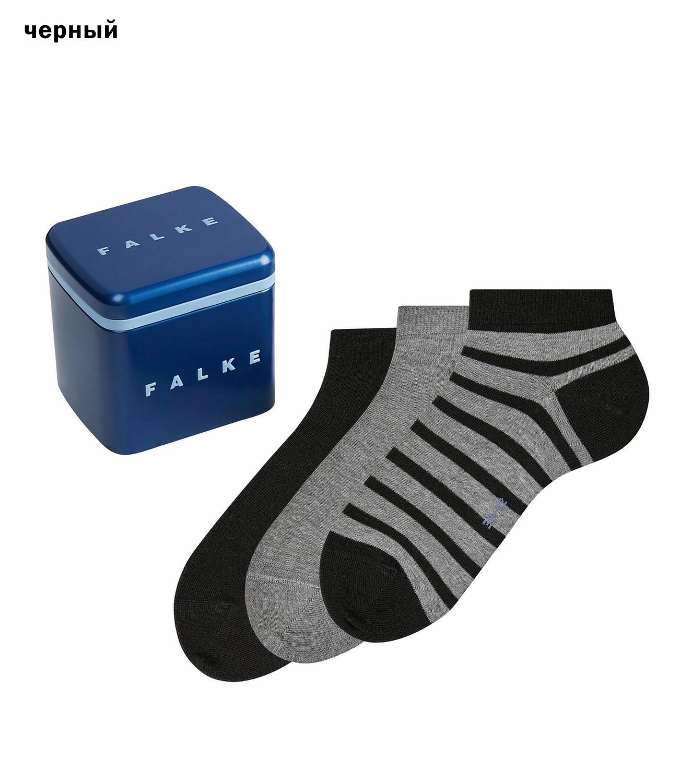 Комплект хлопковых носков (3 шт) в коробке 13056 HappyBox Falke