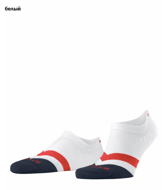 Короткие хлопковые носки 21929 Argyle Racing Burlington