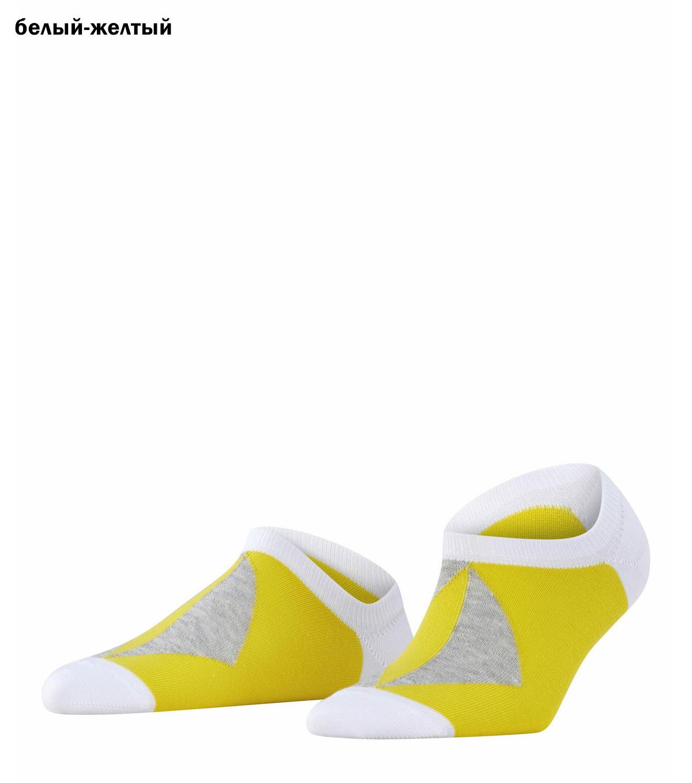 Хлопковые укороченные носки 27100 Graphic Rhomb Burlington