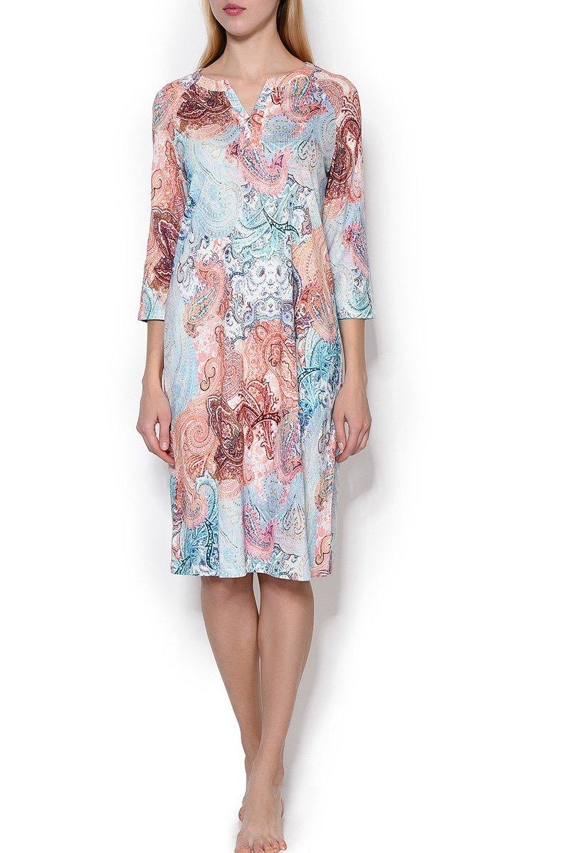Платье трикотажное 842229 Огурцы Charmor