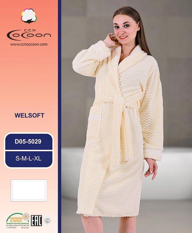 Женский халат из микрофибры 05-5029 Cocoon