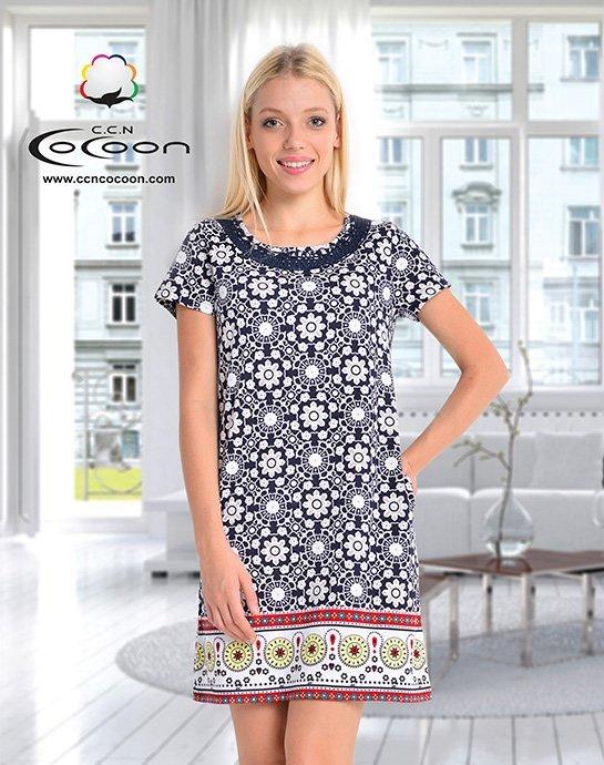 Платье средней длины 10315 Cocoon