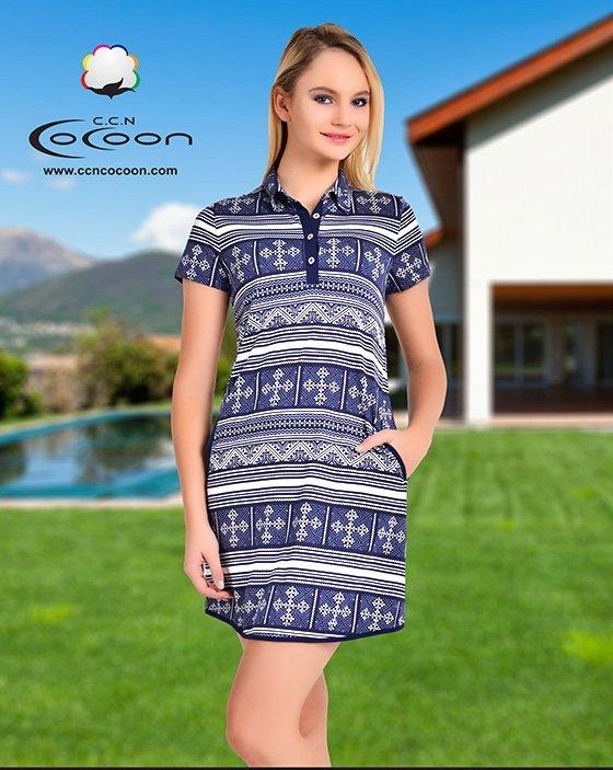 Платье-туника 10375 Cocoon