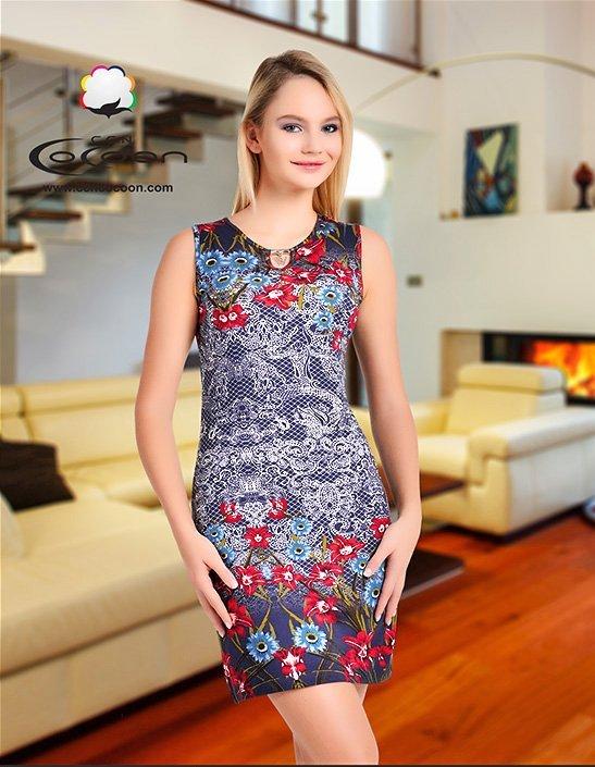 Платье средней длины 11331 Cocoon