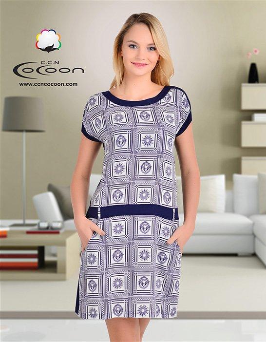 Платье-туника 12423 Cocoon