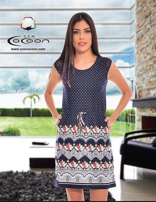Платье трикотажное 13045 Cocoon