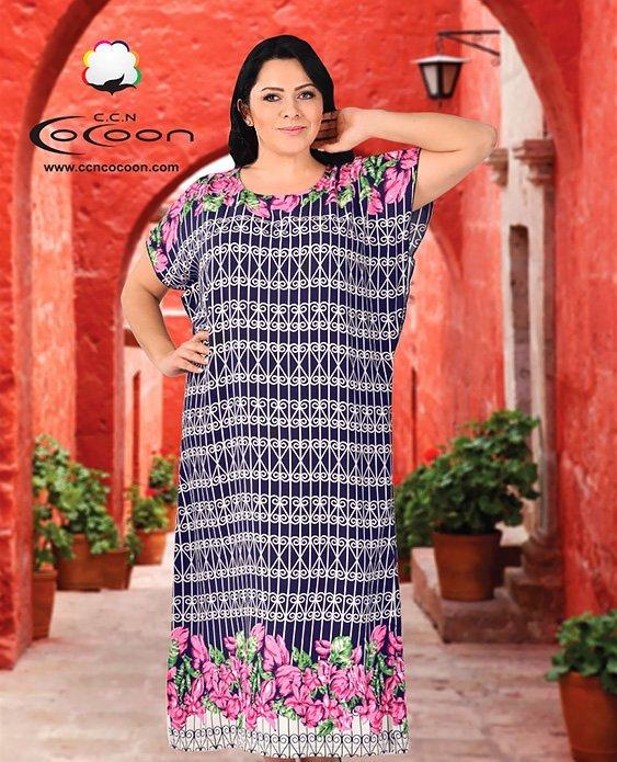 Платье длинное 22058 Cocoon