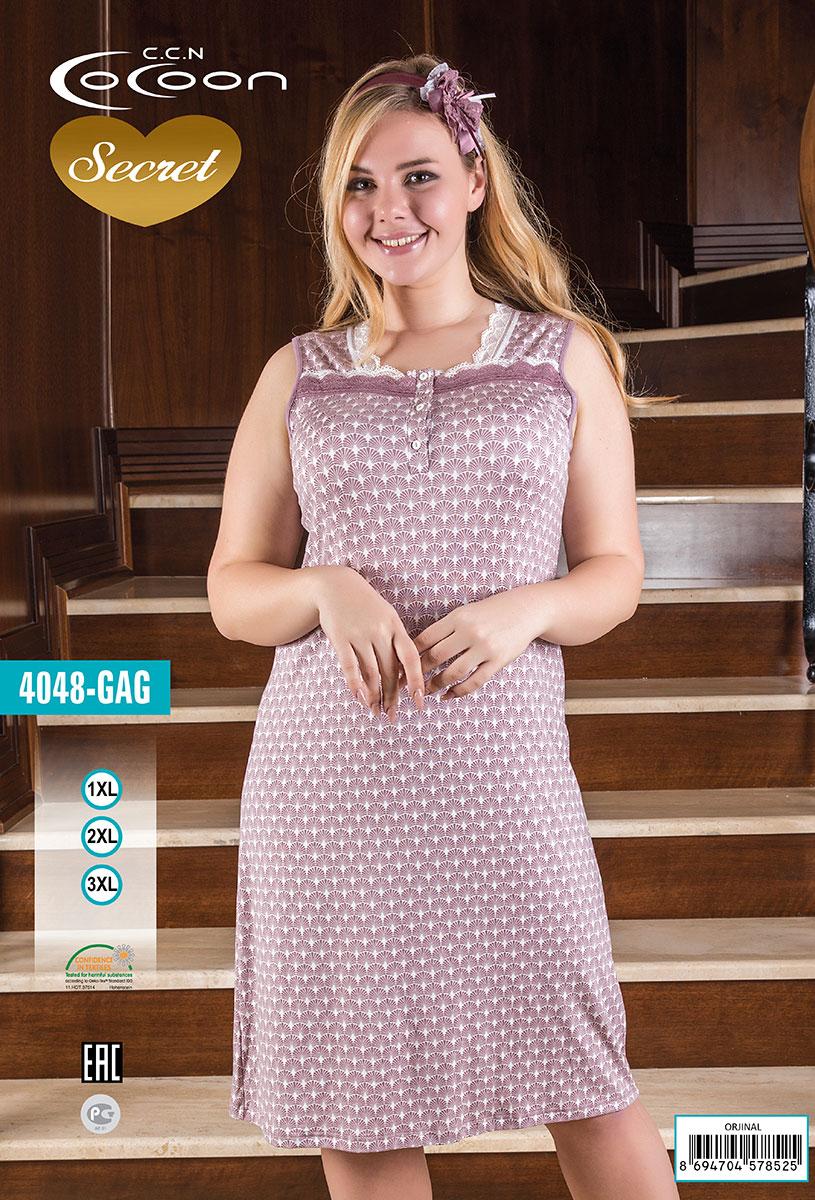 Сорочка без рукавов GAG-4048 Cocoon