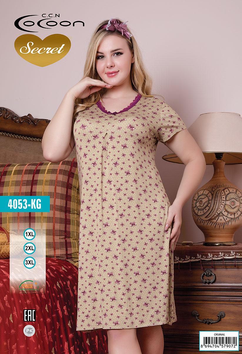 Сорочка с короткими рукавами KG-4053 Cocoon