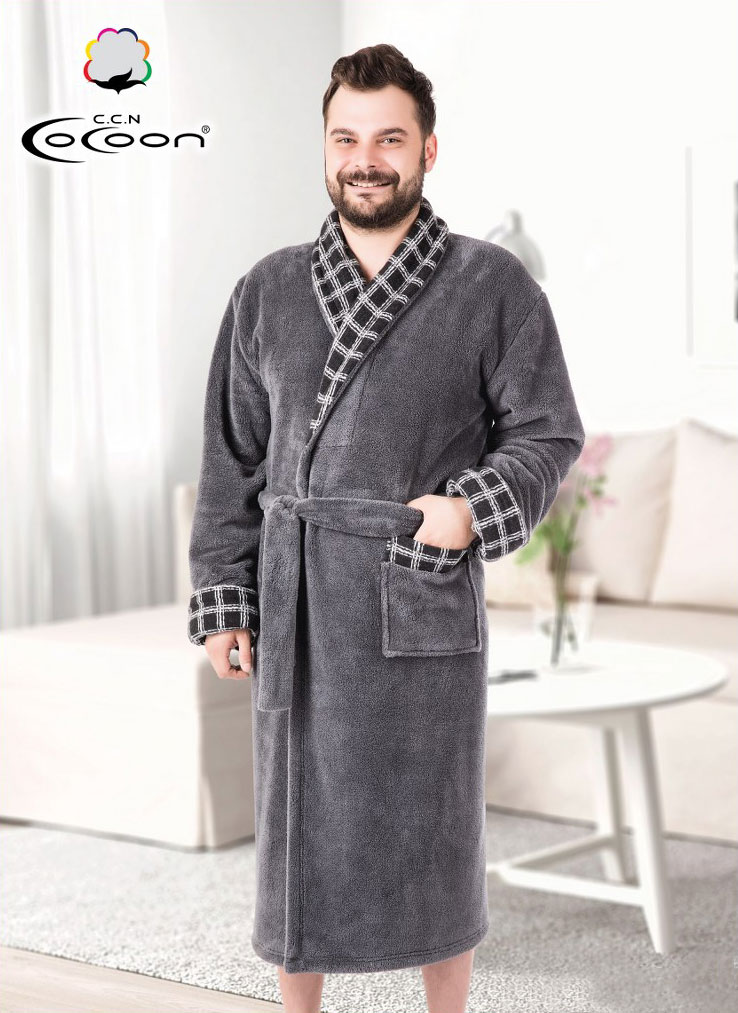 Мужской халат 14-5203 Cocoon
