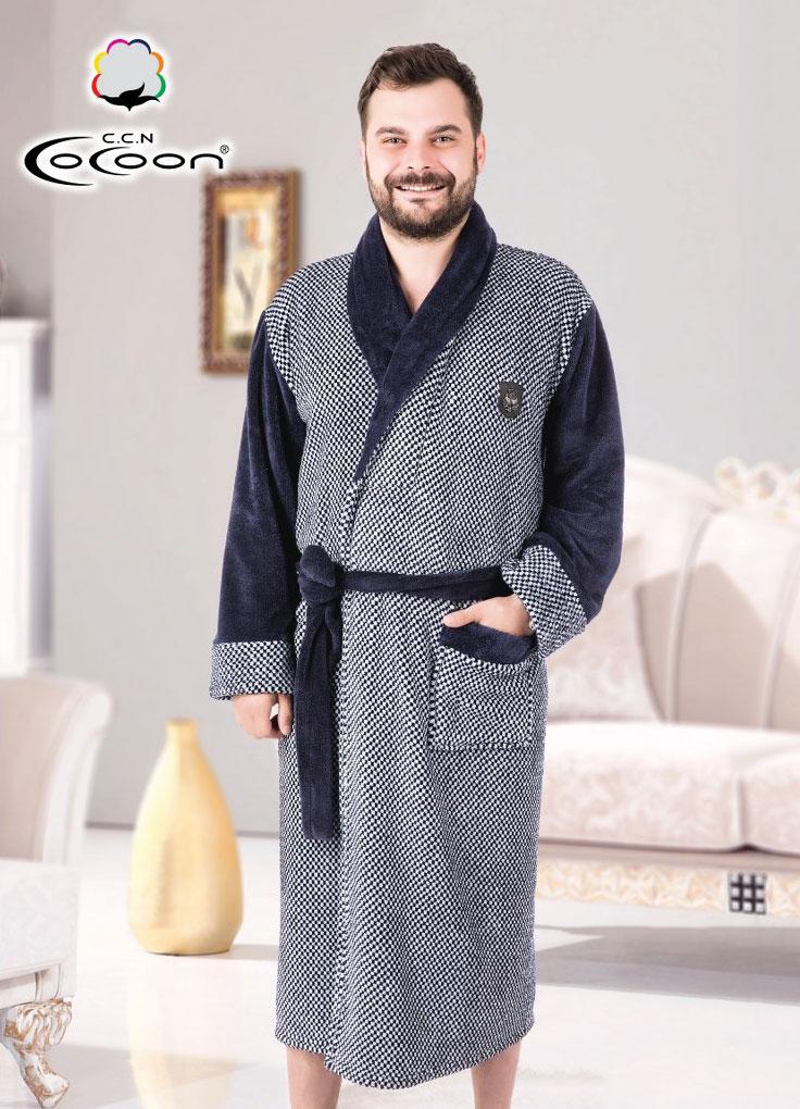 Мужской халат 14-5219 Cocoon