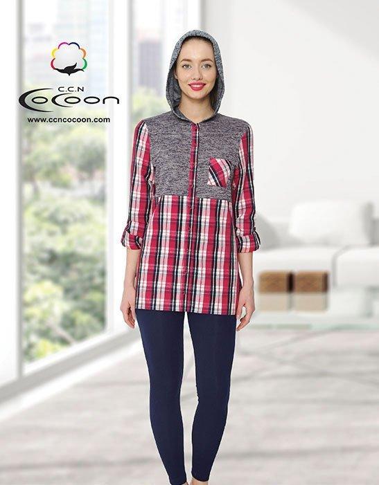 Комплект 66-1041 (рубашка+лосины) Cocoon