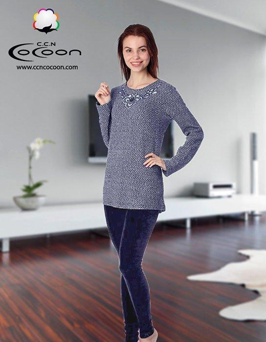Комплект 66-3013 (джемпер+лосины) Cocoon
