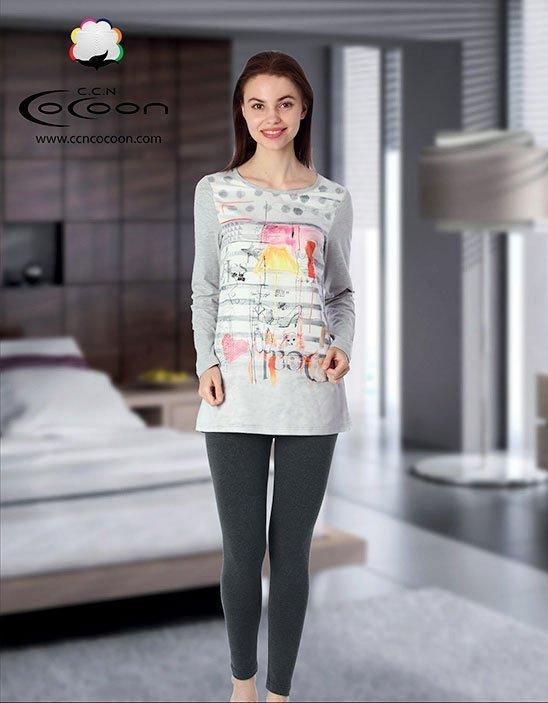 Комплект 66-3029 (кофта+лосины) Cocoon