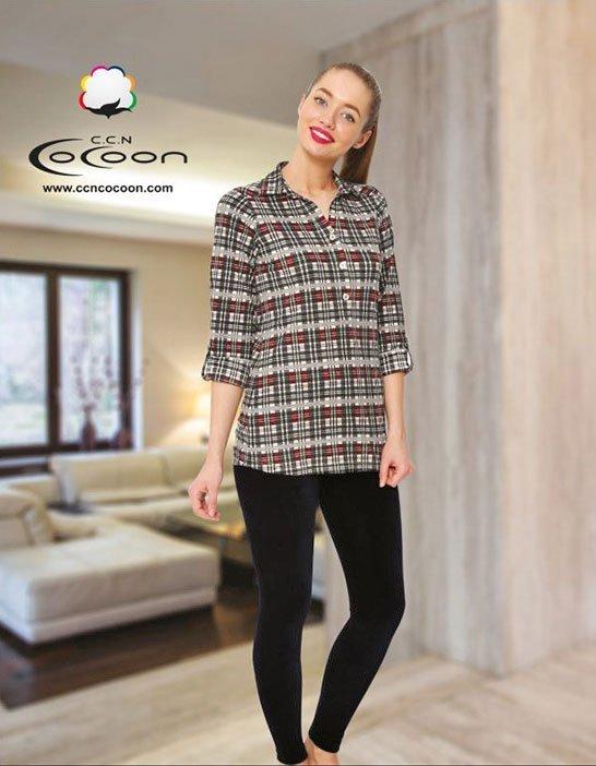 Комплект для отдыха (рубашка+лосины) 66-6003 Cocoon