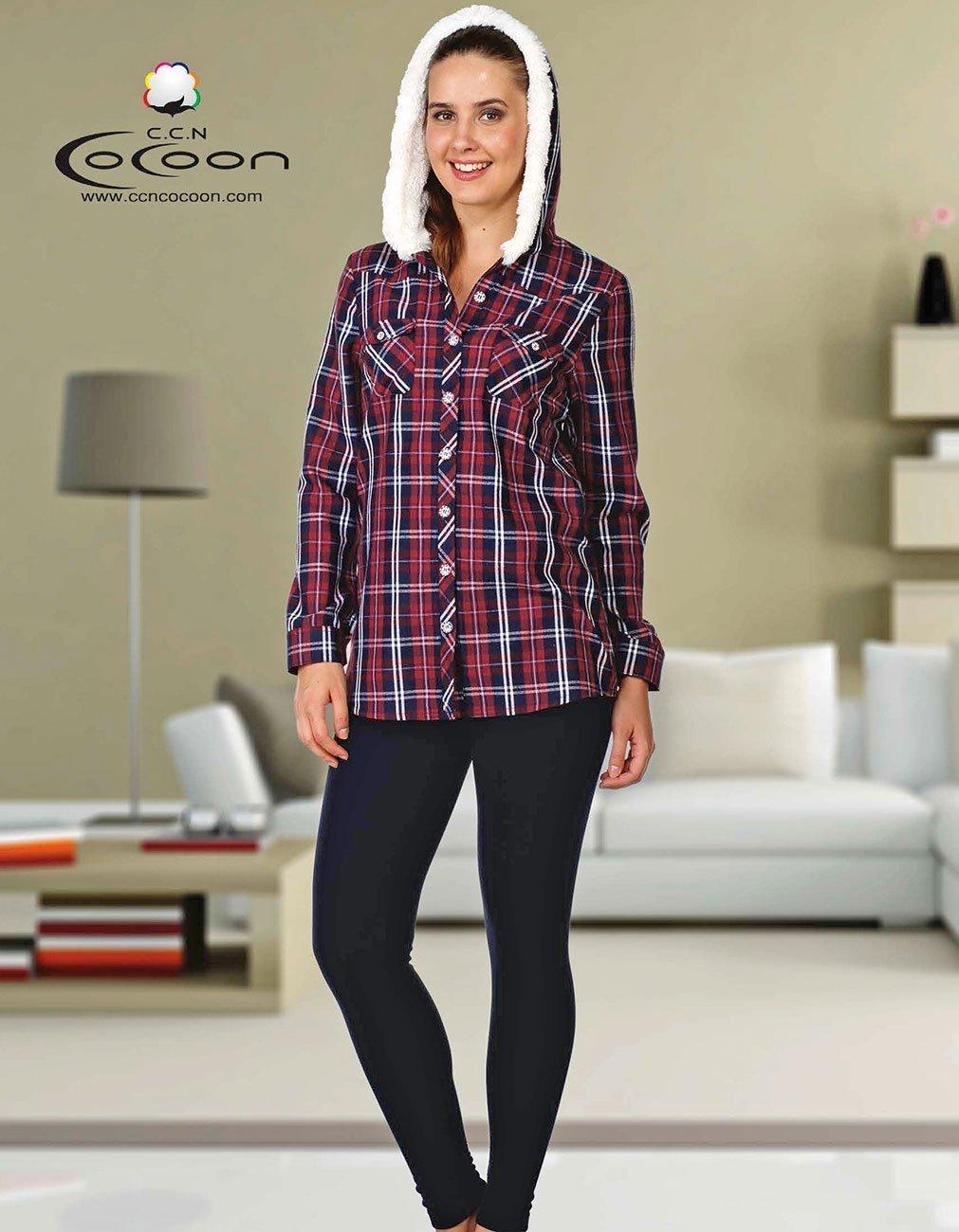 Комплект для отдыха (рубашка+лосины) 96-1047 Cocoon
