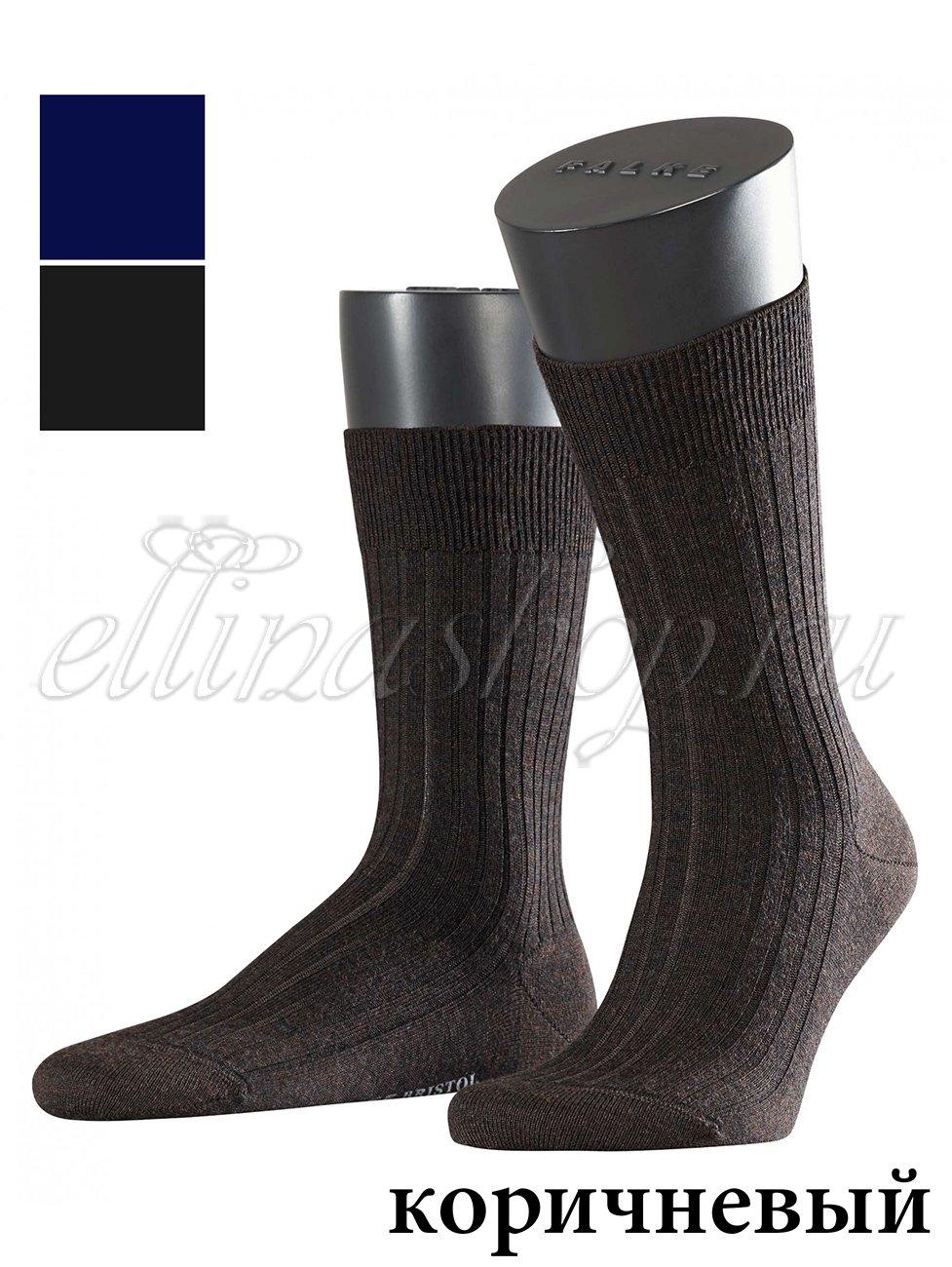 Мужские носки 14415 Bristol рубчик Falke