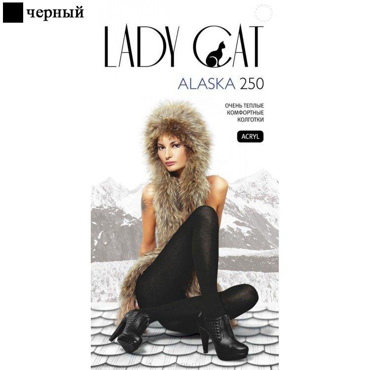 Колготы теплые 450 ден Alaska Lady cat Грация