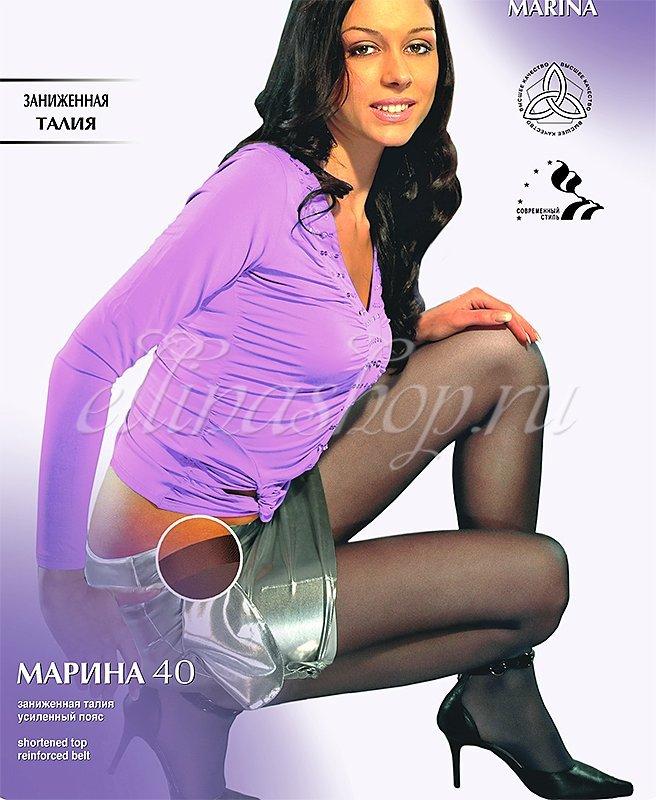 Марина 40 ден колготки с заниженной талией Грация