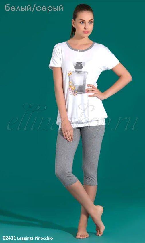 2411 Пижама (футболка+бриджи) Linclalor