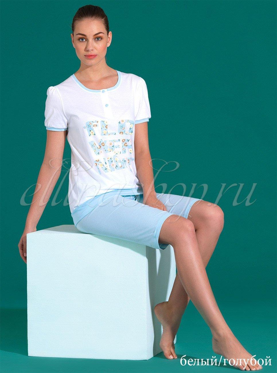 71187 Пижама (футболка+бриджи) Linclalor