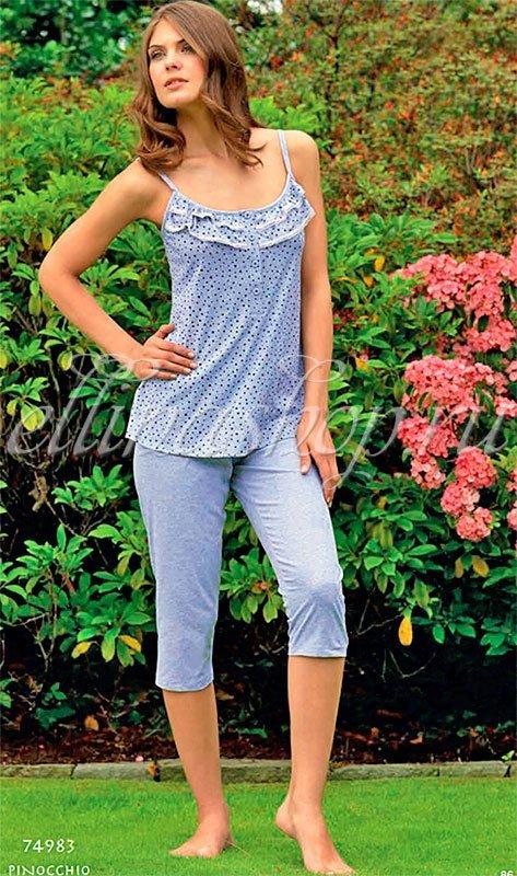74983 Сердечки женская пижама Linclalor