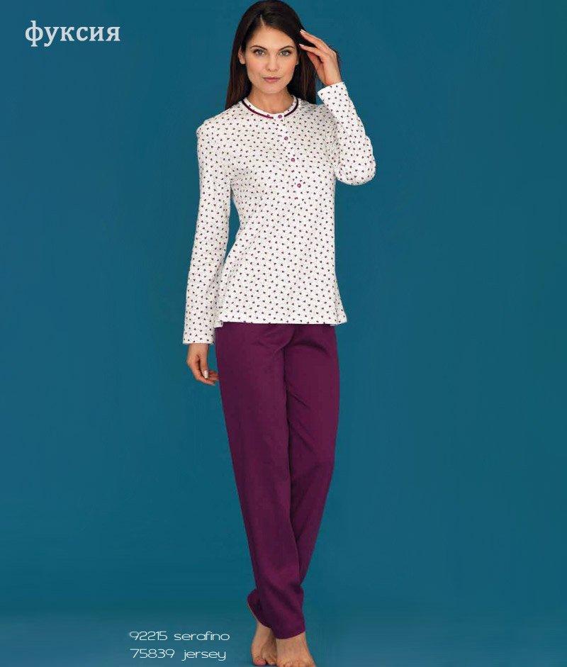 75839 Сердечки пижама (кофта+брюки) Linclalor